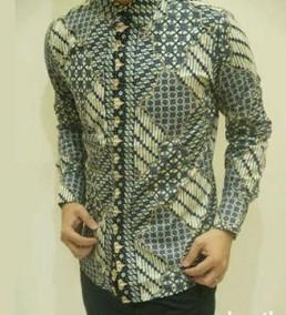 batik-pria-lengan-panjang-hijau-cream-cb142-va-330x01